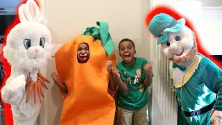 Bad Baby Shiloh And Shasha Easter Bunny vs St Patrick EPIC RAP BATTLE! - Onyx Kids