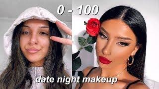 0-100 DATE NIGHT MAKEUP TUTORIAL 2020