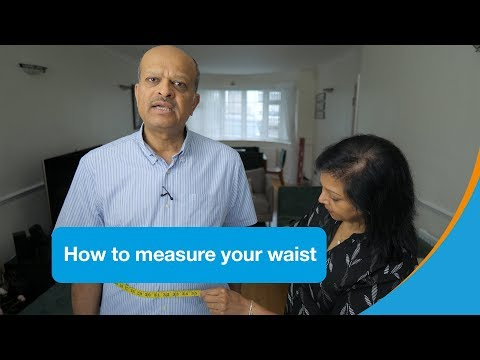 How to measure your waist | Diabetes UK