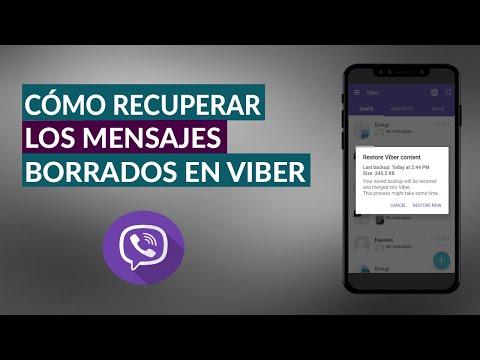 Cómo Puedo Recuperar Mensajes Eliminados en Viber