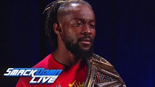 Kofi Kingston ready to shock the world: SmackDown LIVE, Sept. 24, 2019