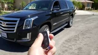 2016 Cadillac Escalade ESV luxury review/walkaround