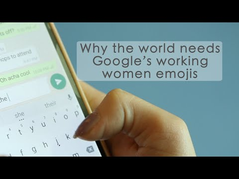 Google's New Emojis Are Here to Address Gender Inequality at Work