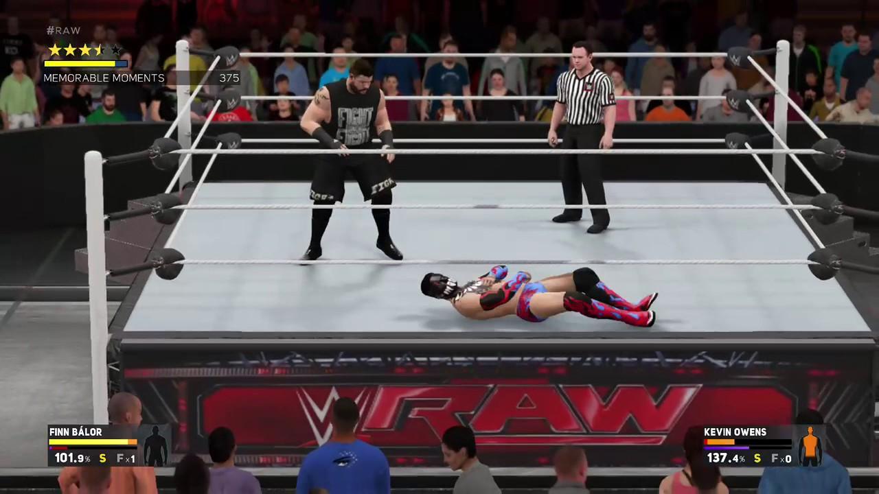 WWE 2K17 | EPIC COUPE DE GRACE!!!