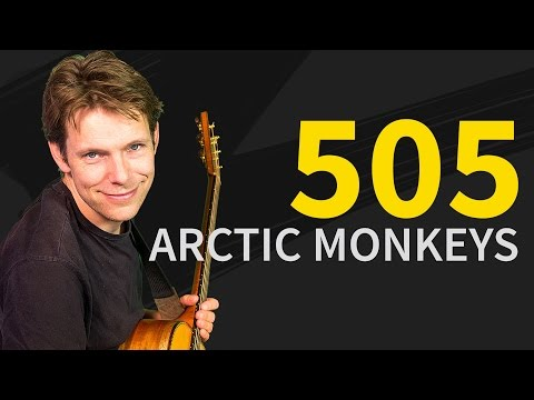 How To Play 505 Guitar Lesson & TAB - Arctic Monkeys - Easy Tutorial