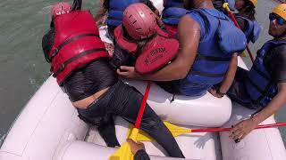 Rescue IN RISHIKESH # DANGEROUS WATER RAFTING