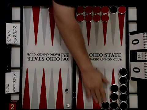 Ohio Backgammon 2017 - Open Final - Sean Garber v Jacek Wojciechowski