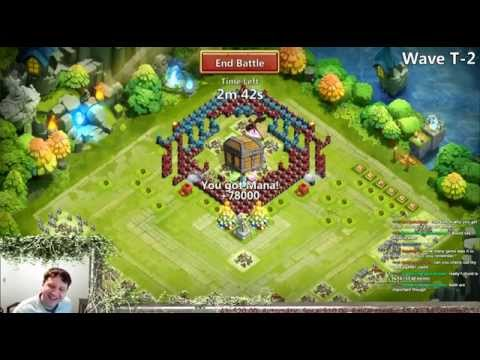 Castle Clash - Town Hall 25 & Level 13 Zap Tower