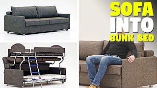 Fantastic Sofa Turns Into a Bunk Bed Furniture