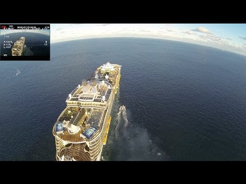 Dji Phantom and Cruise 2 UNCUT iOSD 2.3km+