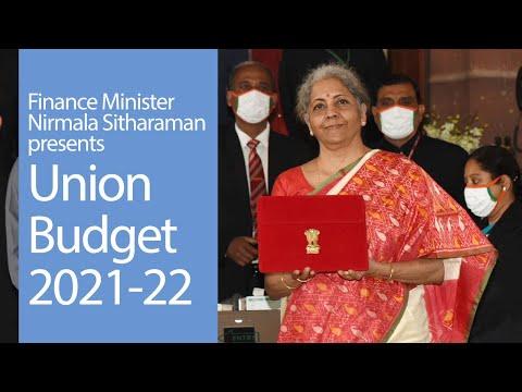 Finance Minister Shrimati Nirmala Sitharaman presents Union Budget 2021-22 | PMO