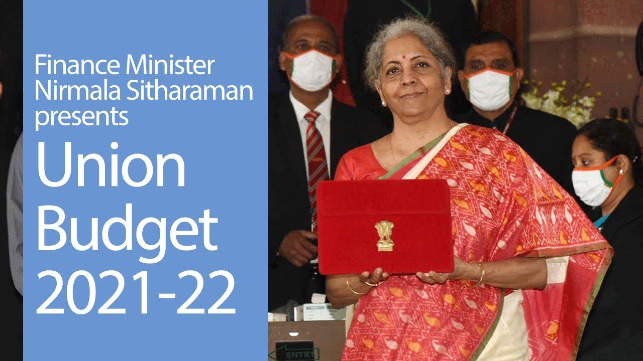 Finance Minister Shrimati Nirmala Sitharaman Presents Union Budget 2021 22 Pmo Youtube
