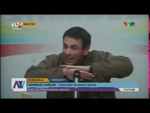 Rueda de Prensa de Henrique Capriles Radonski