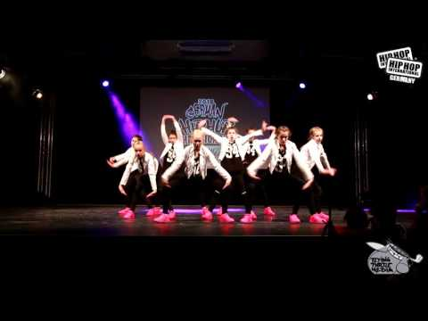 Get Ready Crew  - German Hip Hop Dance Championship 2016 Süd/West Qualifier