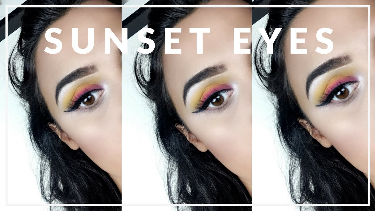 Kiko Wet And Dry Eyeshadow Review Sunset Eye Tutorial Youtube