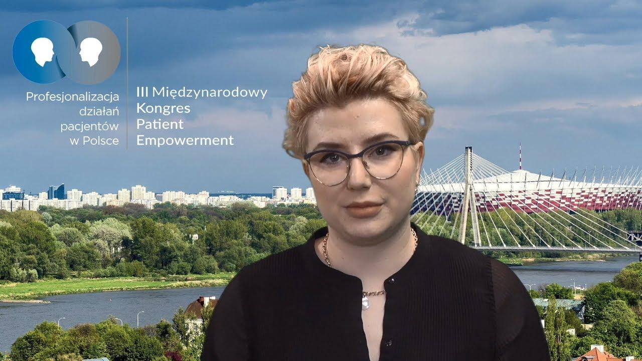 Beata Ambroziewicz zaprasza na Kongres Patient Empowerment