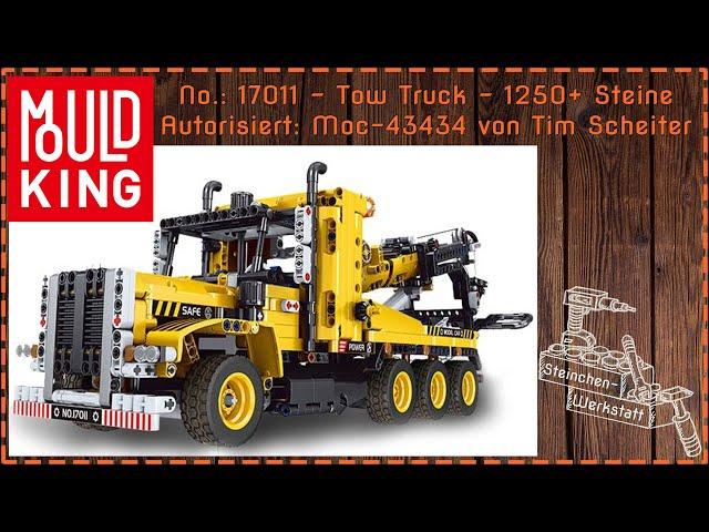 Ein Tow Truck der fast aus Billund kommen könnte | MouldKing | 17011 | Re-Upload