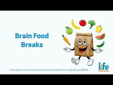 Healthy Eats Brain Food Breaks
