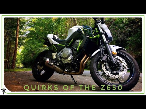 Quirks of the Kawasaki Z650 | Answering Viewer Questions
