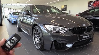 INSIDE the BMW M3 Competition Package 2018 | In Depth Review Interior Exterior SOUND