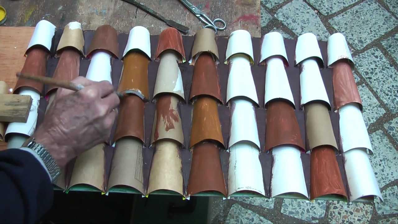 Fake Spanish Roof Tiles