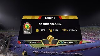 AFCON 2019 | Kenya vs Tanzania | Highlights