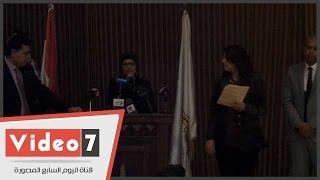 أم شهيد باحتفالية جامعة عين شمس: ابنى استشهد قبل زفافه *