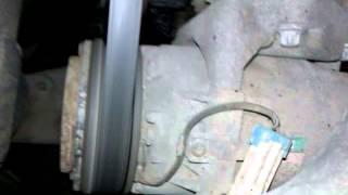 Неправильная работа компрессора Astra G