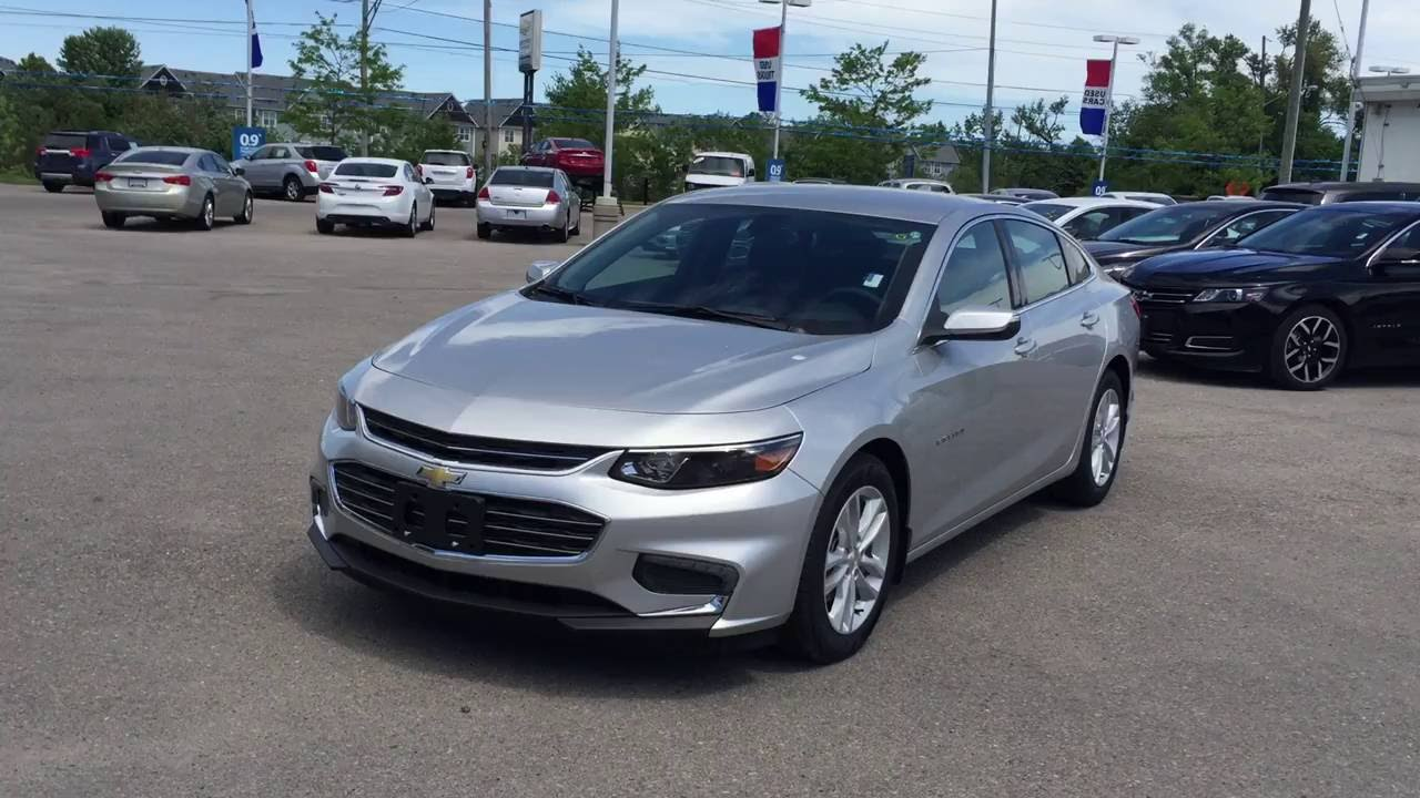 2016 chevrolet malibu 4dr sdn lt 1lt silver ice metallic roy nichols motors courtice on youtube. Black Bedroom Furniture Sets. Home Design Ideas