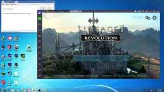 How To play Lineage 2 Revolution  on PC - Bluestacks ( High Graphic Mode )