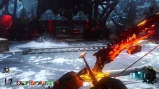 Upgraded Fire Bow Gameplay on Der Eisendrache (PS4)