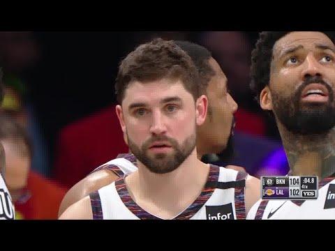 Joe Harris Full Play Vs Los Angeles Lakers | 03/10/20 | Smart Highlights