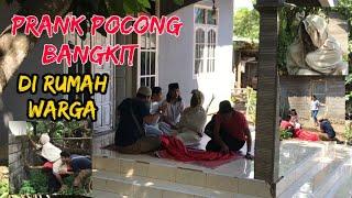 Prank Pocong Bangkit di Rumah Warga Auto Lari Kocar Kacir