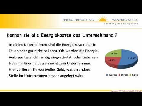 Energieberatung für Unternehmen, Gewerbe, Handel, Inustrie, KMU Beratung