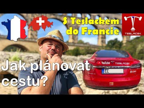 #101 Tesla Trip Francie - Jak plánovat cestu? | Teslacek