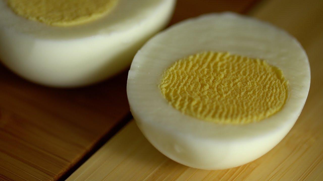 Easy to Peel Hard Boiled Eggs  YouTube