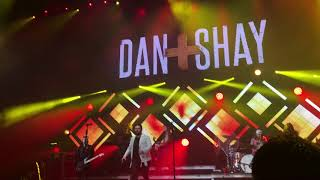 Dan and Shay - All Nighter. Home Team Tour Pensacola, Fl 10/13/2017