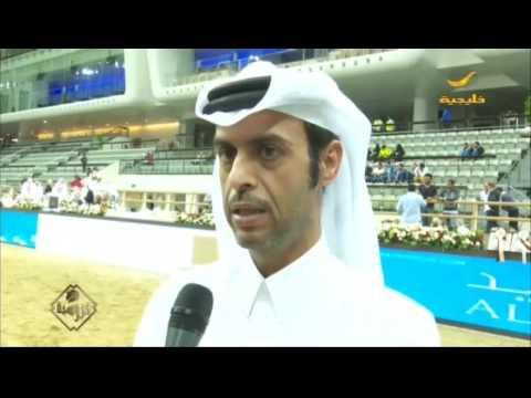 """الفحل """"أبها قطر"""" يتربع على عرش الذهب في بطولة قطر الدولية السادسة والعشرين"""
