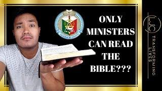 Iglesia Ni Cristo: Is Bible📖 Reading Exclusive To Ministers?🤔