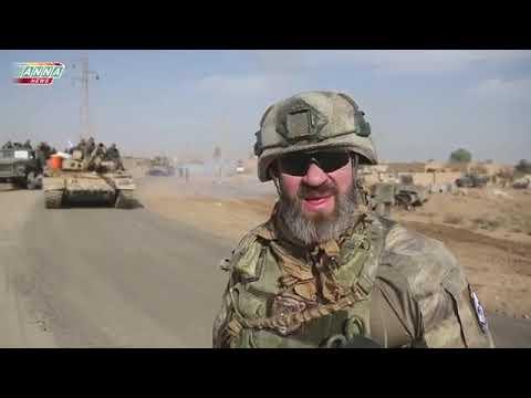 Syria War Video / The road to Abu-Kemal, General Suhel / Дорога на Абу-Кемаль генерала Сухела