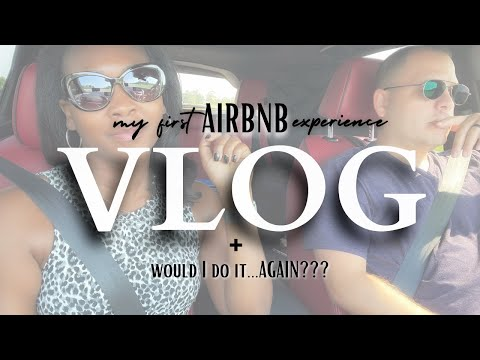 my *FIRST TIME* staying in an Airbnb + Roadtrip ⎟VLOG⎟Frugal Living