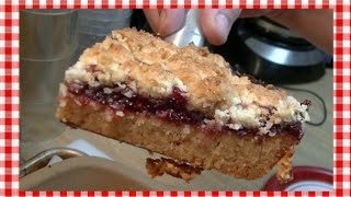 Master Mix Linzer Crumble Bars Recipe ~ Noreen's Kitchen
