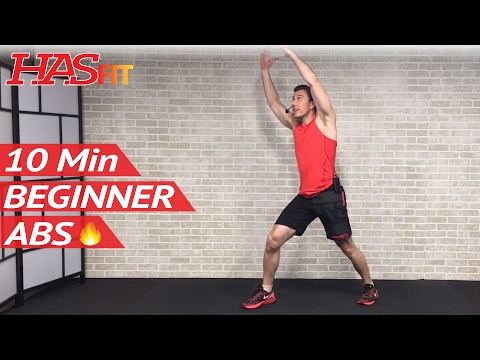 Minute Ab Workout with Dumbbells or No Equipment Weights – Abs Workout for Women & Men at Home