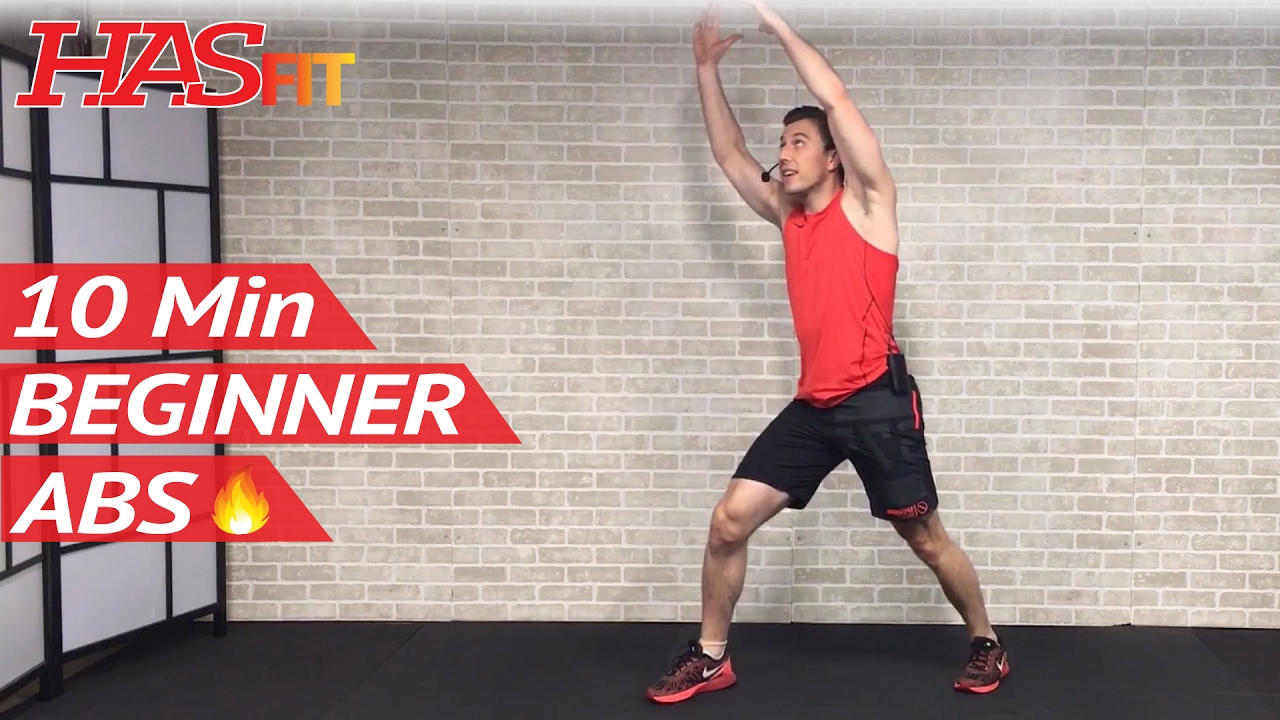 10 Min Easy Abs Workout For Beginners People Who Get Bored Easily