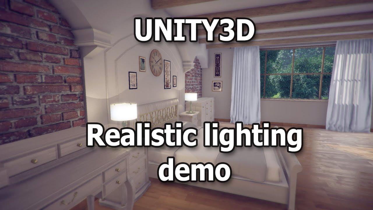 Realistic Dynamic Interior Lighting Unity 5