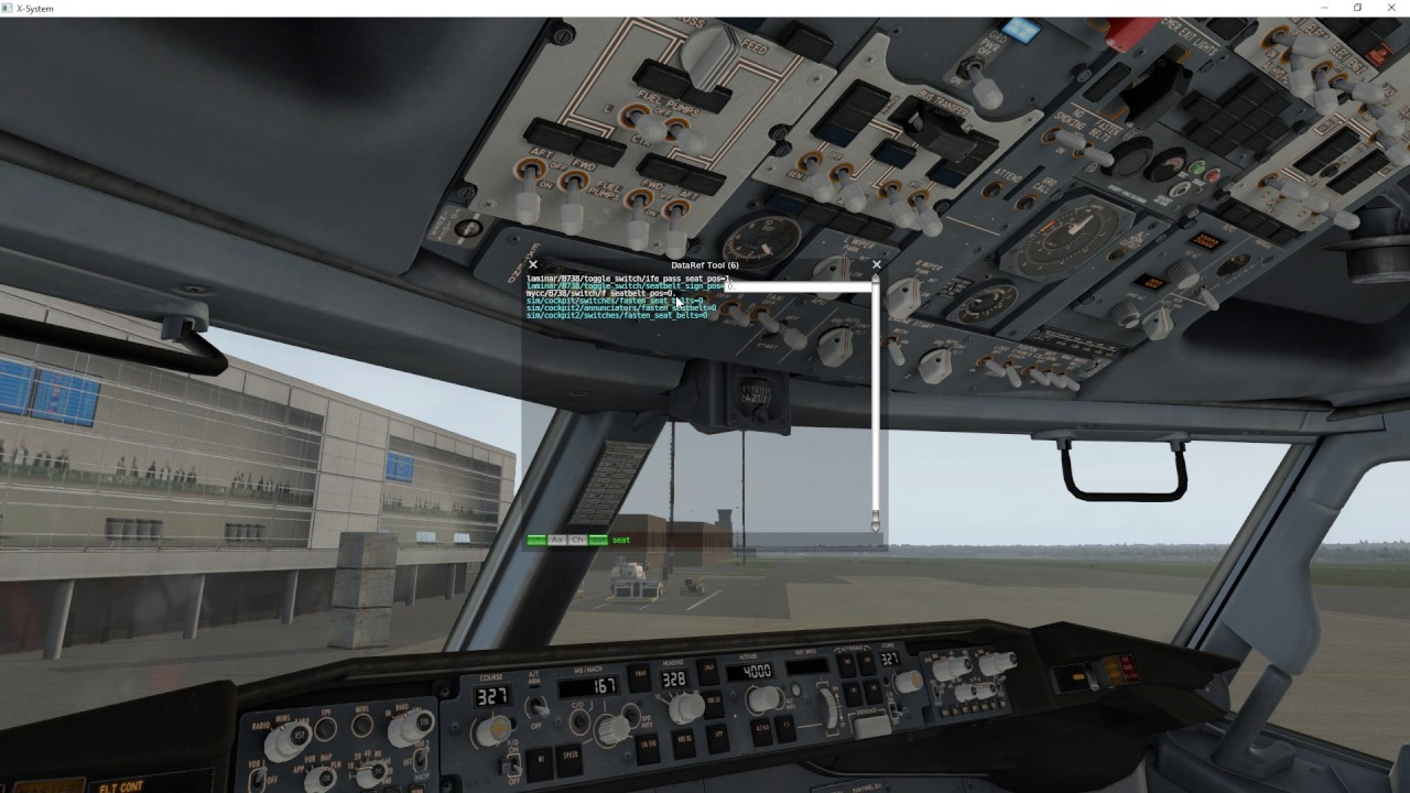 How to connect external Switch to an readonly Dataref from Zibo 737-800 in  X-Plane 11