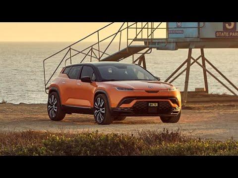 2023 Fisker Ocean Electric SUV Sculpting Details