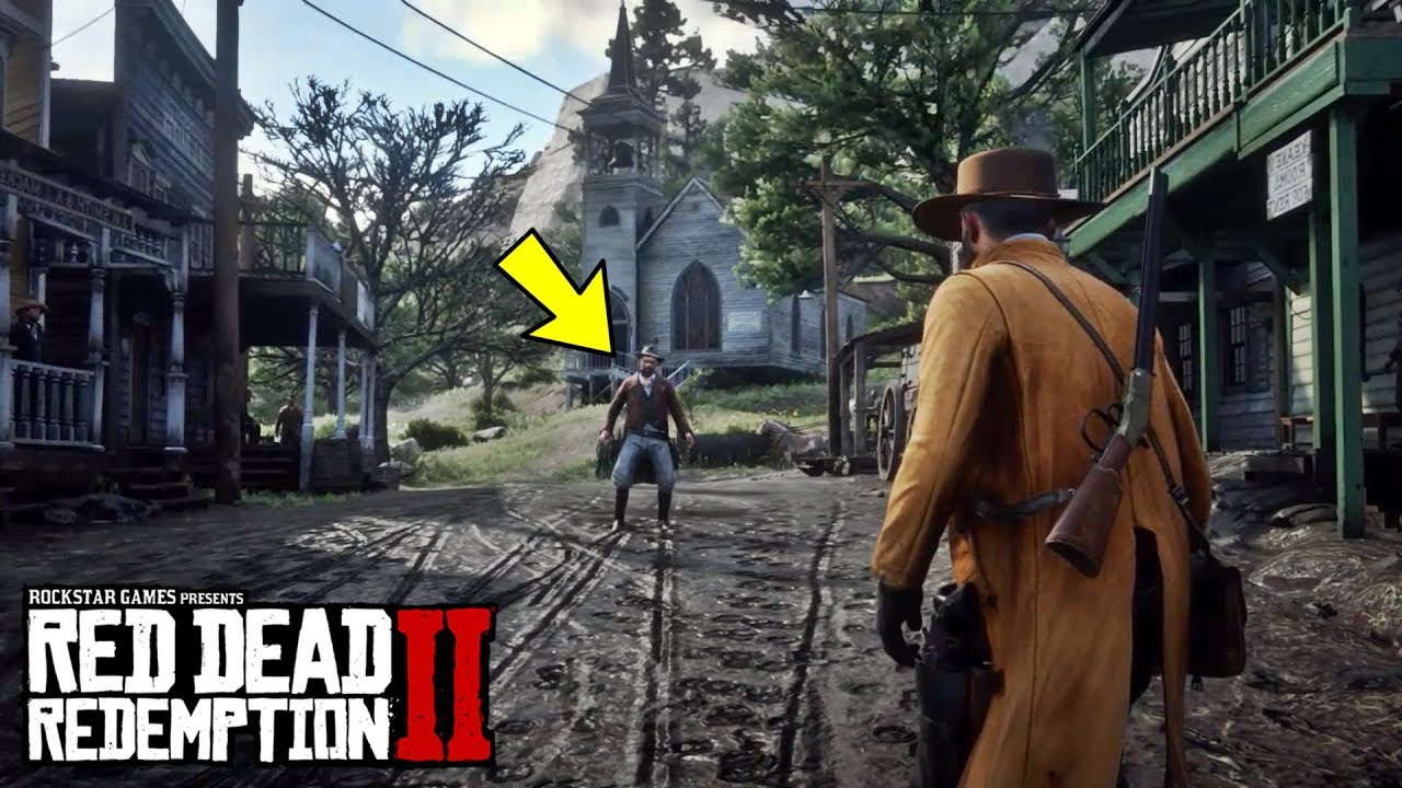 HOW TO DUEL IN RED DEAD REDEMPTION 2!