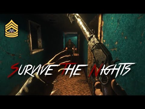 NEW ZOMBIE GAME | Survive The Nights Part 1 | INTERACTIVE STREAM | 1080p @ 60fps