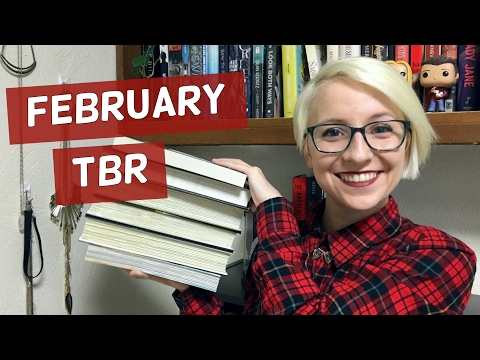FEBRUARY TBR 2017 | OVERLY-AMBITIOUS FANTASY FEBRUARY
